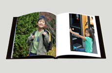 Everyday Photo Books for Back to School Phtotos