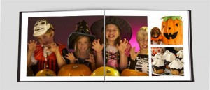 Halloween Photo Book Ideas by myclearstory.com