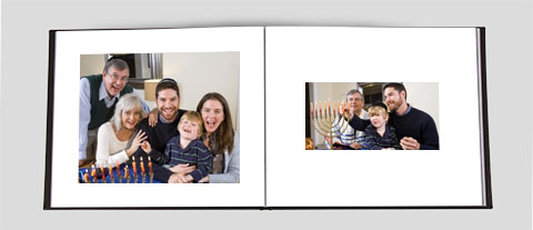 Hanukkah Photo Book Landscape